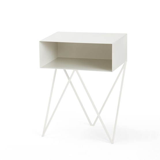 ROBOT side table - Paper white  - Design : And New