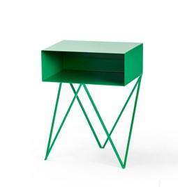 Green ROBOT side table