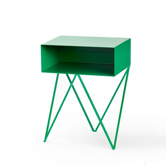Green ROBOT side table - Design : And New