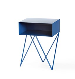 Mini table d'appoint ROBOT - bleue