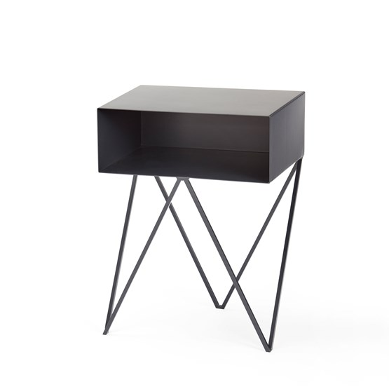 Mini table d'appoint ROBOT - noire - Design : And New