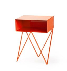 Mini table d'appoint ROBOT - orange