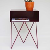 Beetroot ROBOT side table 3