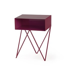 Beetroot ROBOT side table