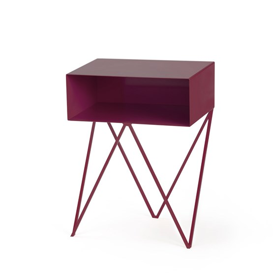 Beetroot ROBOT side table - Design : And New