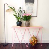 GIRAFFE console table - Pink  3