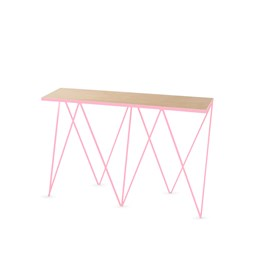 GIRAFFE console table - Pink