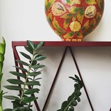GIRAFFE console table - Beetroot  4