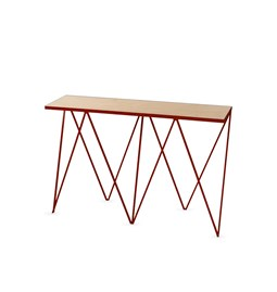 GIRAFFE console table - Beetroot