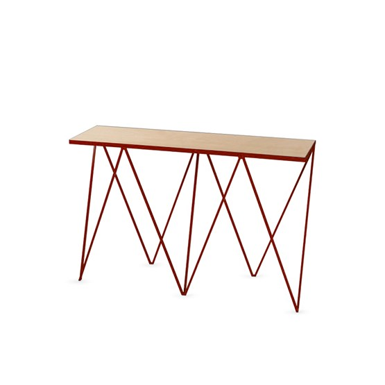 GIRAFFE console table - Beetroot  - Design : And New