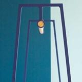 """""""A"""" clothes rail - Blue  3"""