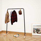 Black HÄNK Coat hanger 3