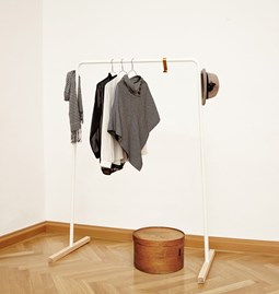 HÄNK Coat hanger - white