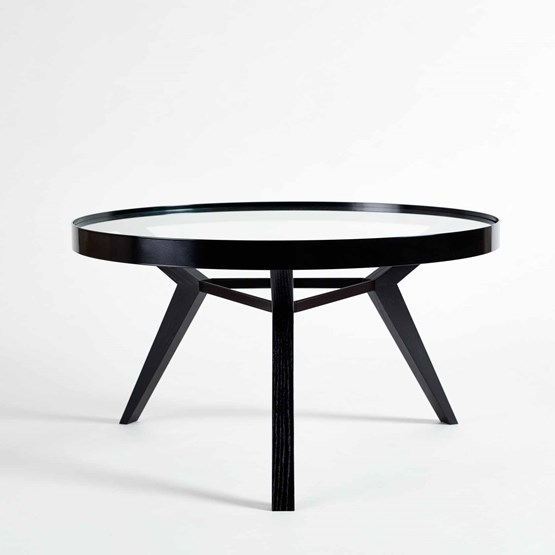 Table basse SPOT noire - Design : NEUVONFRISCH