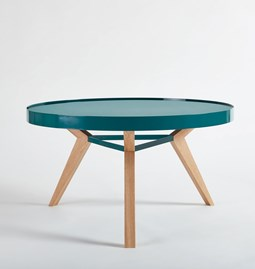 SPOT coffee table  - turquoise