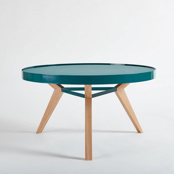 Table basse SPOT turquoise - Design : NEUVONFRISCH