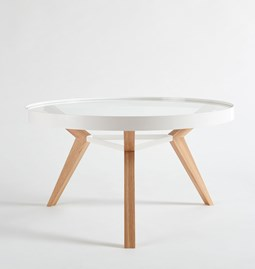 Table basse SPOT blanche