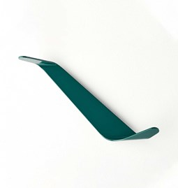 BENDER wardrobe hook - bottle green