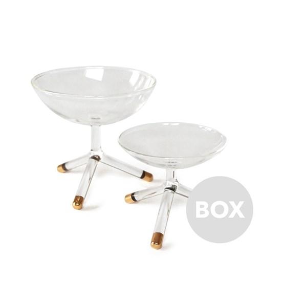 Coupelles GOLDEN TRIPOD - Box 26 - Design : Maarten Baptist
