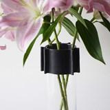 Vase ENGRENAGE - noir 4
