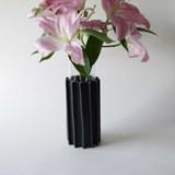 Vase ENGRENAGE - noir 5