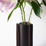 ENGRENAGE vase - brown 3