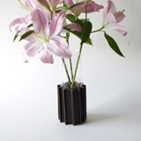ENGRENAGE vase - brown 6