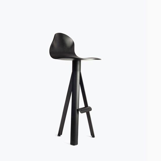 Chaise de bar TUBE contreplaqué  - Design : Maarten Baptist