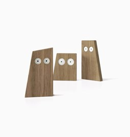 CHOUETTES wooden animals trio - Designerbox
