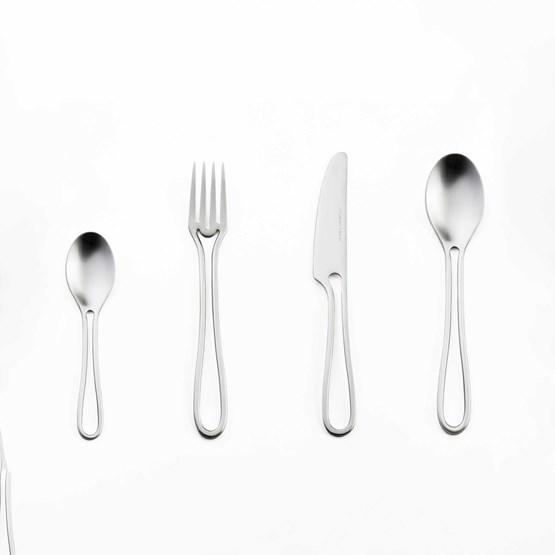 Matt OUTLINE cutlery 24 pieces dining set - Design : Maarten Baptist