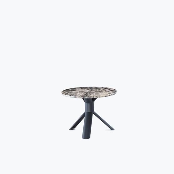 Marble TUBE side table - Design : Maarten Baptist