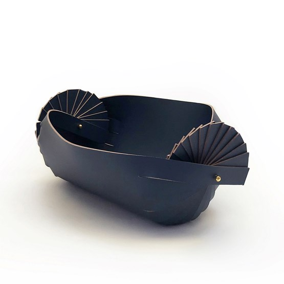 CANDY_S leather basket  - Design : Elise Fouin