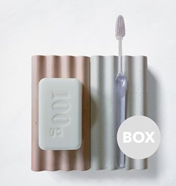 SOCLES Concrete accessories duo - Box