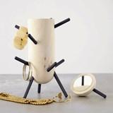 Porte-bijoux CACTUS - noir cendre 4