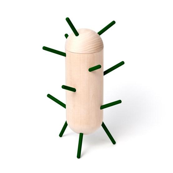 CACTUS jewelry holder - fir green - Design : Elisabeth Hertzfeld Design