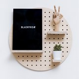 Pegboard Rond 6