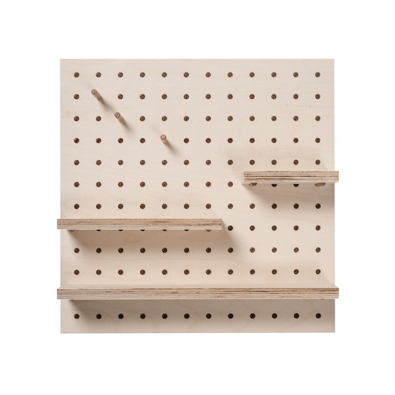 Square Pegboard  - Design : Little Anana