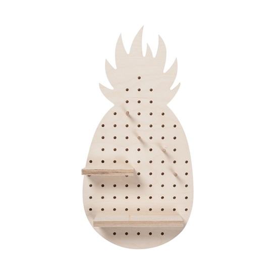 Pineapple Pegboard - Design : Little Anana