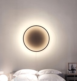 ECLIPSE lamp - black burnt