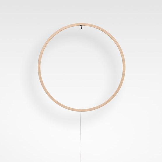 Lampe ECLIPSE - bois naturel - Design : Tilen Sepič