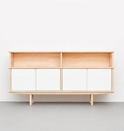 SPLITTER Sideboard white 2 x 1 + 1/2 KT2U