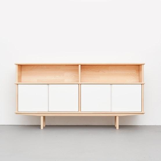 SPLITTER Sideboard white 2 x 1 + 1/2 KT2U - Design : NEUVONFRISCH
