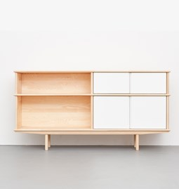 SPLITTER Sideboard white, 2 x 1 + 1/2 KT2