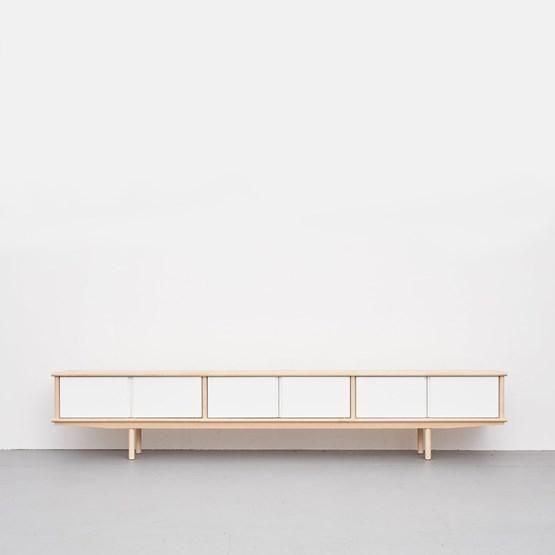 Enfilade SPLITTER 3 x 1/2 blanc - Design : NEUVONFRISCH