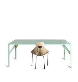 YEAN Table rectangulaire verte