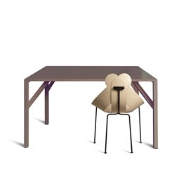 YEAN Square Brown Table