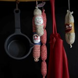 100% knitted Chipolata sausages 2
