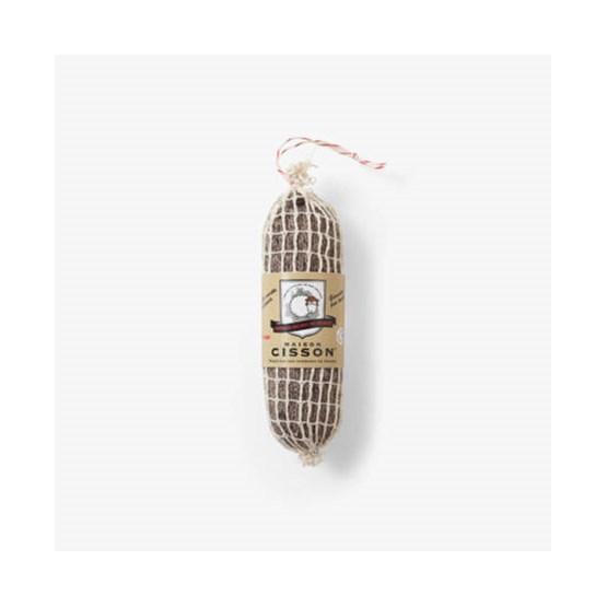 Le saucisson aux noix du Périgord 100% pur tricot  - Design : Maison Cisson