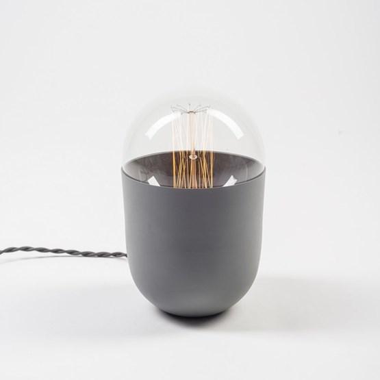 COCO grey table lamp  - Design : Koska