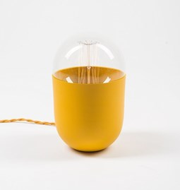 COCO mustard table lamp
